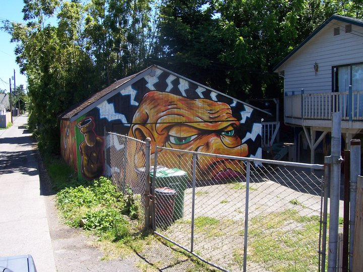 garage face